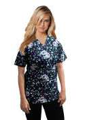 Scrub Print Of The Month - May Flowers Print Scrubs