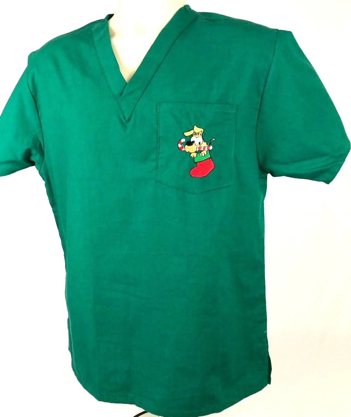 Christmas Holiday Scrub Tops
