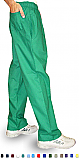 Unisex Scrubs - 3 Pocket Elastic Waist Drawstring Pants.